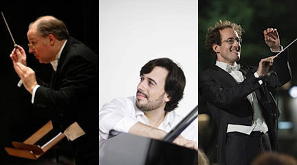 Adrian Leaper. Iván Martín. Pablo González