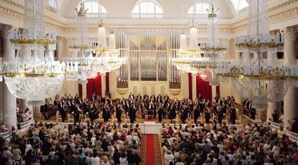 clasica  La Filarmónica de San Petersburgo protagonista en los Ciclos Ibermúsica
