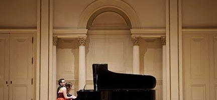 Iberian & Klavier en su actuación en el Carnegie Hall