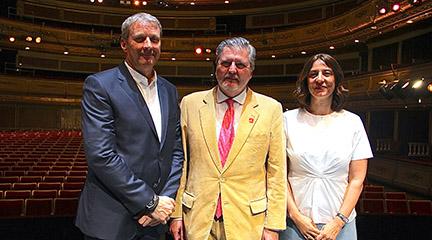 Daniel Bianco, Íñigo Méndez de Vigo y Montserrat Iglesias