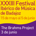 XXXIII Festival Ibérico de Música de Badajoz   The Brahms Project 3 de junio