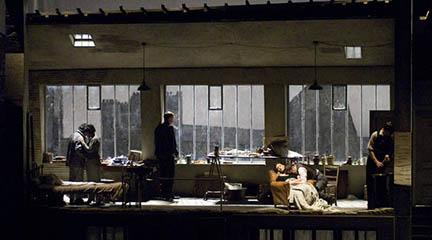 lirica  La bohème llega al Liceu en una producción inspirada en los años 30 del siglo XX