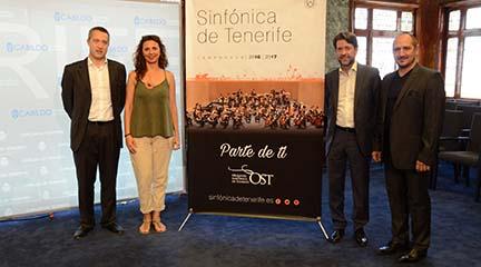 temporadas  La Orquesta Sinfónica de Tenerife presenta la próxima temporada con un nuevo modelo de gestión
