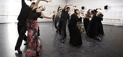Ensayo del Ballet Nacional de España. ©BNE