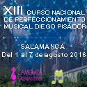 XIII Curso de Perfeccionamiento musical Diego Pisador