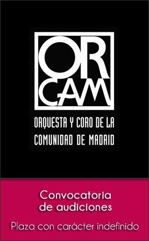 Convocatoria de audiciones para el Coro de la Comunidad de Madrid