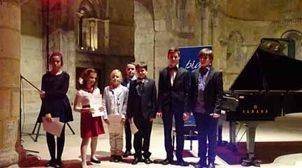 convocatorias concursos  XX Premio Infantil de Piano Santa Cecilia