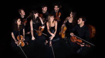 clasica  Concierto de Bambu Ensemble, con intérpretes de la JONDE