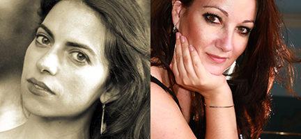 Claudia Pérez Iñesta y Marina Pardo