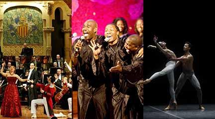 Strauss Festival Orchestra & Ballet Ensemble. Alabama Gospel Choir. Ballet Nacional de Sodre