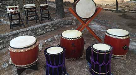 cursos  Taller de Taiko, el arte de la percusión japonesa