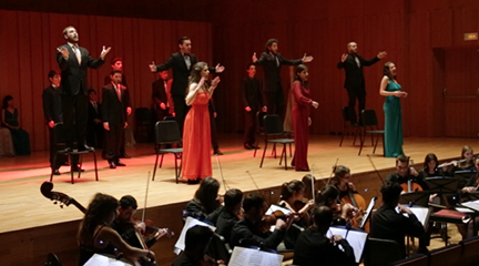 cursos  Nuevo Máster Oficial en interpretación de Ópera del Conservatorio del Liceu