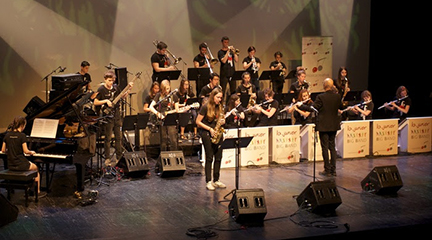 jazz  La Creativa Junior Big Band en Jazzmadrid
