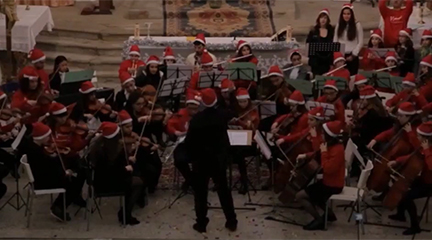 cursos  MusiCamp Christmas, campamento musical especial Navidad
