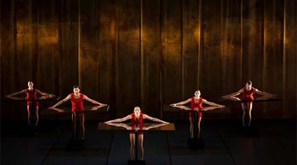cursos  Taller de danza infantil con Aracalandanza en el Teatro de la Abadía
