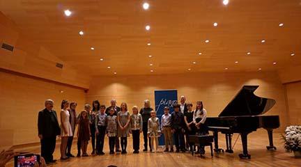 premios  Ganadores 20 Premio Infantil de Piano Santa Cecilia