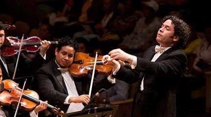 clasica  RTVE da la bienvenida al Año Nuevo con el tradicional Concierto de la Orquesta Filarmónica de Viena dirigida por Dudamel