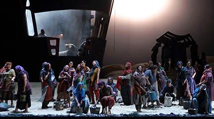 lirica  El Holandés errante llega al Teatro Real con la visión de la Fura dels Baus