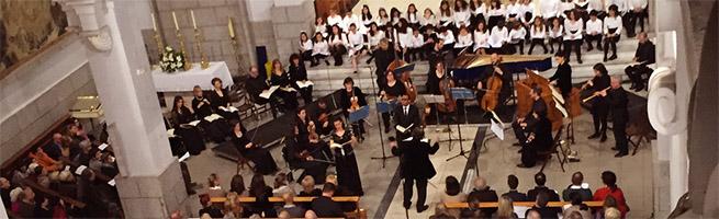notas  Música clásica, flamenco y góspel suenan en las iglesias por Navidad