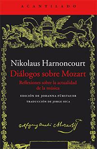 libros  Música, Mozart y Harnoncourt