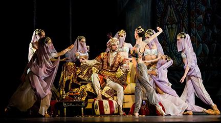 clasica danza  El Corsario, con el Ballet de la ópera de Viena llega al Teatro Real