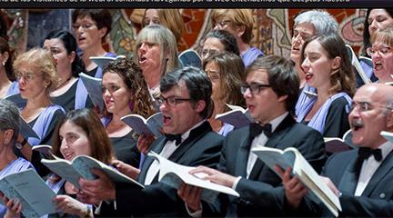 convocatorias concursos  El Orfeó Català convoca la segunda edición del Concurso Internacional de Composición Coral Fiesta de la Música Coral