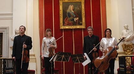 hacia el siglo 21  Homenaje al compositor Ángel Oliver en La Real Academia de Bellas Artes de San Fernando