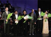 premios  PREMIADOS EN EL XII CONCURSO INTERNACIONAL DE CANTO ACISCLO FERNÁNDEZ ARRIEDO