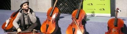 instrumentos  La Casa Encendida acoge con música los instrumentos para el proyecto Music Fund