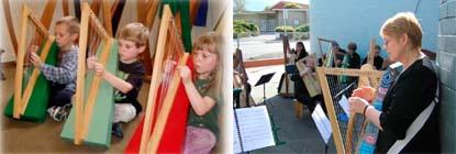 instrumentos  Introducción del arpa en centros de enseñanza