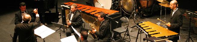 portada  Invitación del Sax Ensemble a su concierto fin de temporada