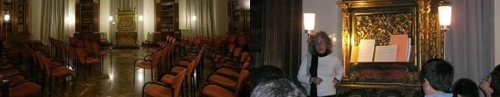 instrumentos  Treinta años de Conciertos Didácticos en el órgano Realejo del Arqueológico Nacional