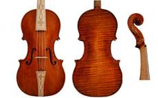 lutheria  Exposición de instrumentos de arco en la ESMUC
