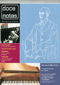 doce notas  Doce Notas nº 1
