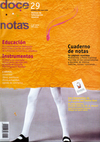 doce notas  Doce Notas nº 29