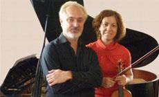 """clasica  """"De Beethoven a Turina"""" con el pianista Antonio Soria y la violinista María José López"""