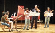 cursos de verano  Cursos 14 Festival Internacional de Música Antigua
