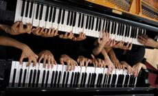 tiendas  20 pianos sonarán a la vez en el Palau de la Música
