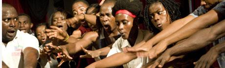 danzas del mundo  Orígenes, un musical africano