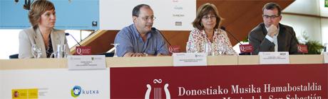 festivales  Presentación de la 72 Quincena Musical de San Sebastián