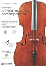 lutheria  Muestra de luthería contemporánea en el RCSMM