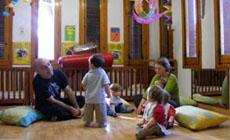 para ninos  Música en pañales, taller para bebés