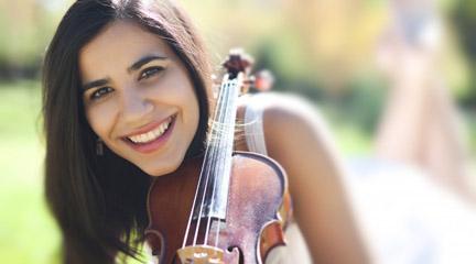 internacional  Ana María Valderrama, talento revelación en el festival Musical Olympus