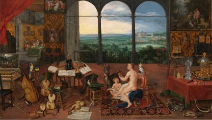 instrumentos  El Museo del Prado estrena en su web la Iconografía musical