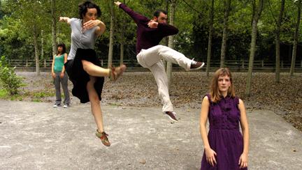 contemporanea danza  La danza sale a la calle en los Veranos de la Villa