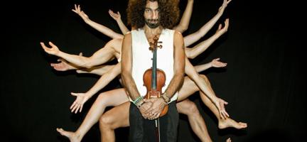 contemporanea danza  Ara Malikian se da caprichos para el violín y el cuerpo