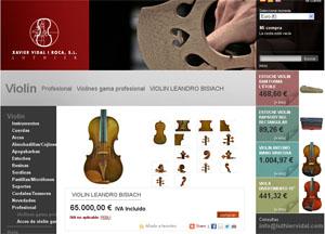 lutheria  La tienda online del luthier Xavier Vidal i Roca