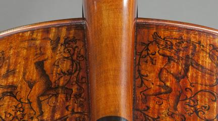 lutheria  Restauración del violonchelo Stradivari del Palacio Real de Madrid