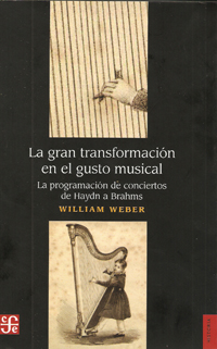 libros  Oferta, demanda y cánones musicales decimonónicos