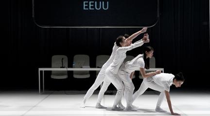 contemporanea danza  Escena Contemporánea con la nueva creación y el contacto con el público